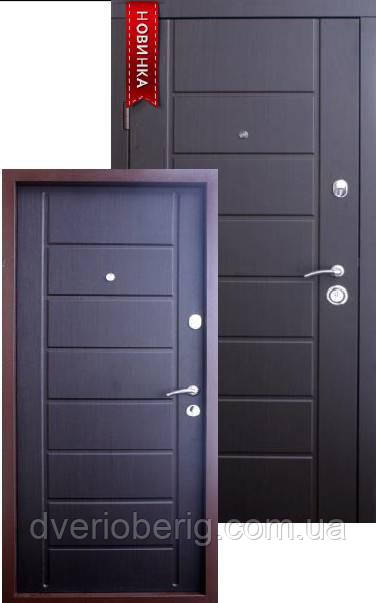 Входная дверь Qdoors Эталон Канзас венге темный