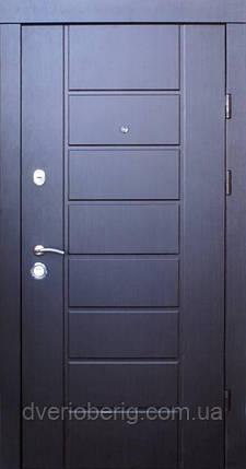 Входная дверь Qdoors Эталон Канзас венге темный, фото 2