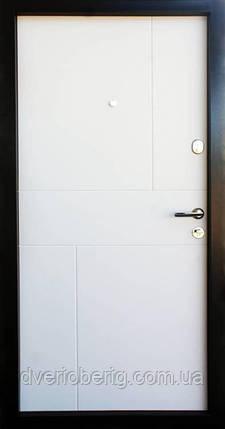 Входная дверь Qdoors Премиум Стиль-М венге серый горизонт АРТ - белое дерево, фото 2