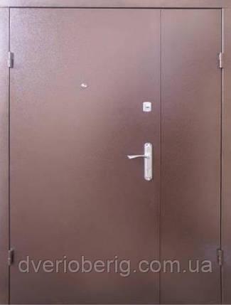 Входная дверь Qdoors Металл-МДФ Стандарт М Классик 1200, фото 2