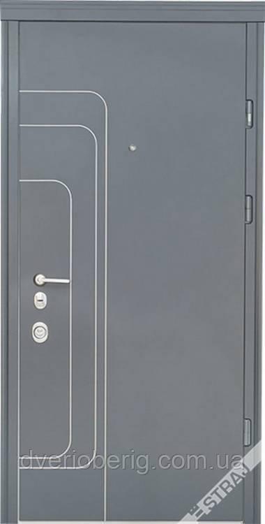 Входная дверь Страж Трэк Стандарт антрацит-белое дерево