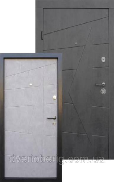 Входная дверь Qdoors Премиум Акцент бетон темный - бетон серый