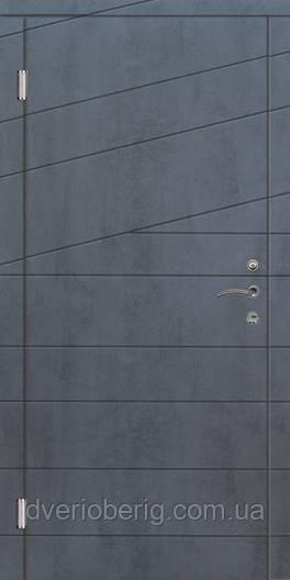 Входная дверь Портала Диагональ PREMIUM венге темн. горизонт