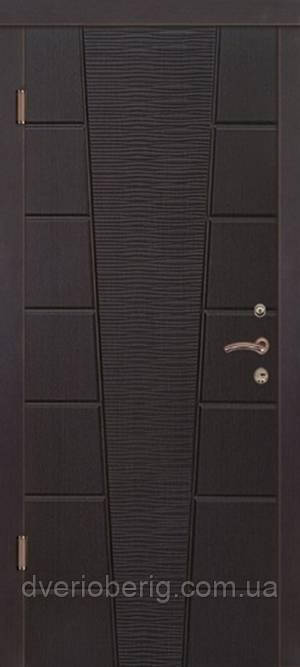 Входная дверь Портала Верона 4 LUX темн орех
