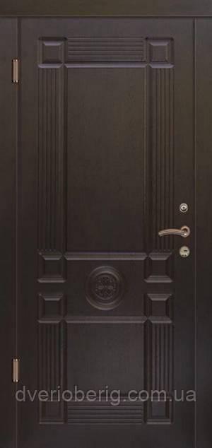 Входная дверь Портала Монарх LUX темн орех