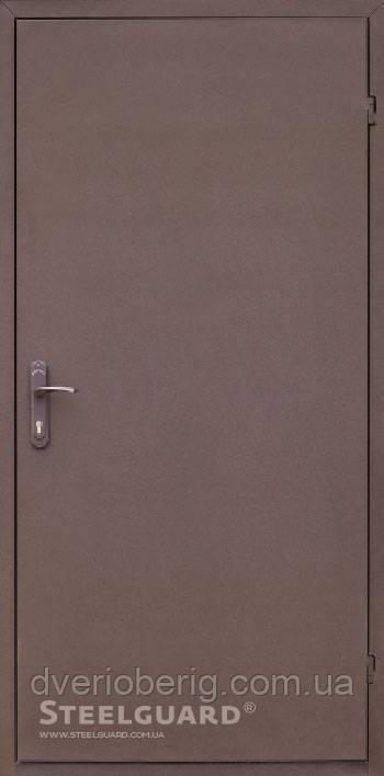 Входная дверь Steelguard Tech 161 RAL 8019