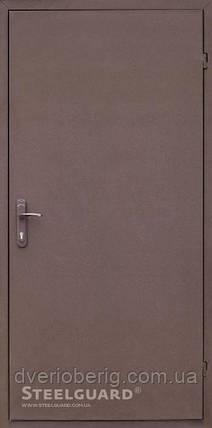 Входная дверь Steelguard Tech 161 RAL 8019, фото 2