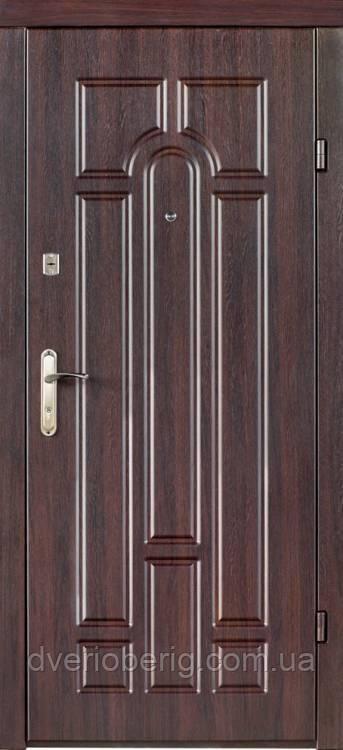 Входная дверь Redfort Эконом Арка МДФ 10