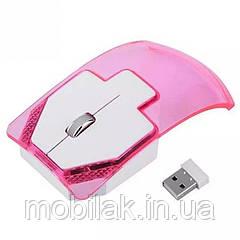 Беспроводная мышь Woopower с подсветкой Pink