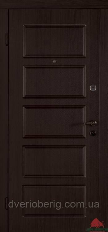 Входная дверь Двери Белоруссии (входные) Стандарт Лестница-В венге