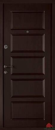 Входная дверь Двери Белоруссии (входные) Стандарт Лестница-В венге, фото 2