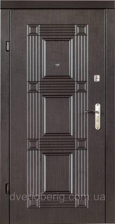 Входная дверь Redfort Эконом Квадро МДФ 10