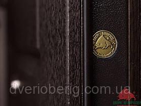 Входная дверь Двери Белоруссии (входные) Стандарт Капри-В темный орех, фото 3