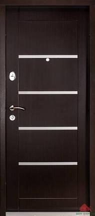 Входная дверь Двери Белоруссии (входные) Средний сегмент ГОРИЗОНТАЛЬ ВЕНГЕ, фото 2