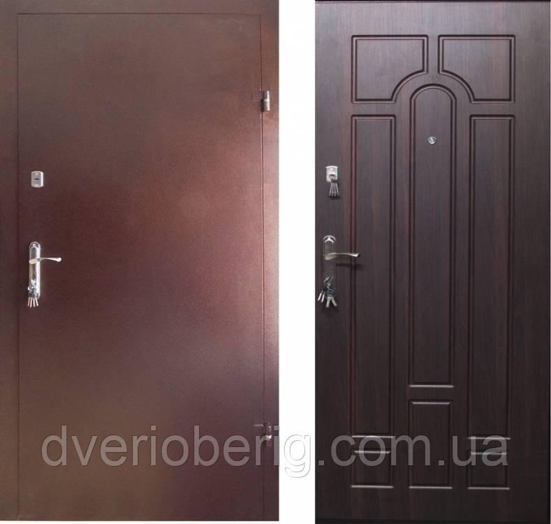 Входная дверь Redfort Эконом Арка Металл-МДФ
