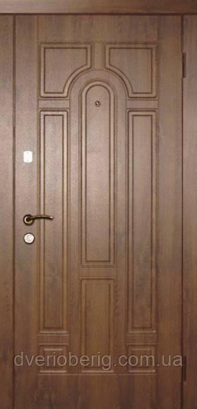 Входная дверь Redfort Эконом Арка Vinorit МДФ 10
