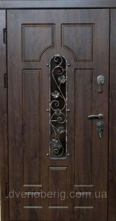 Входная дверь Very Dveri Улица Арка с ковкой