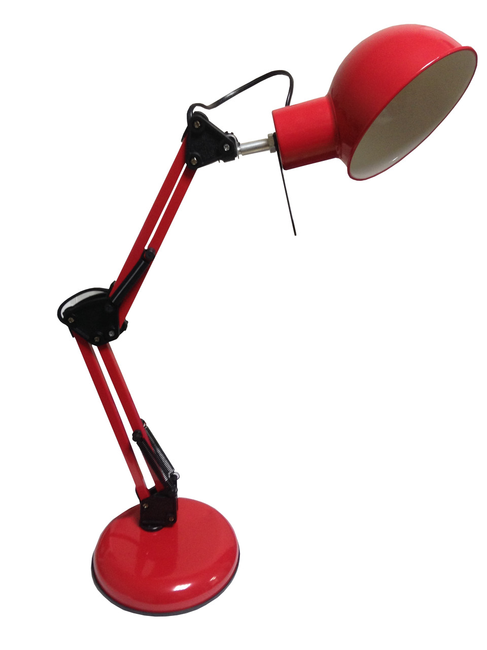 Настольна лампа дізайнерська LU-LN1-COLOMBO RED 60W E27 (основа метал)(12шт/ящ) TM LUMANO АКЦИЯ 3шт