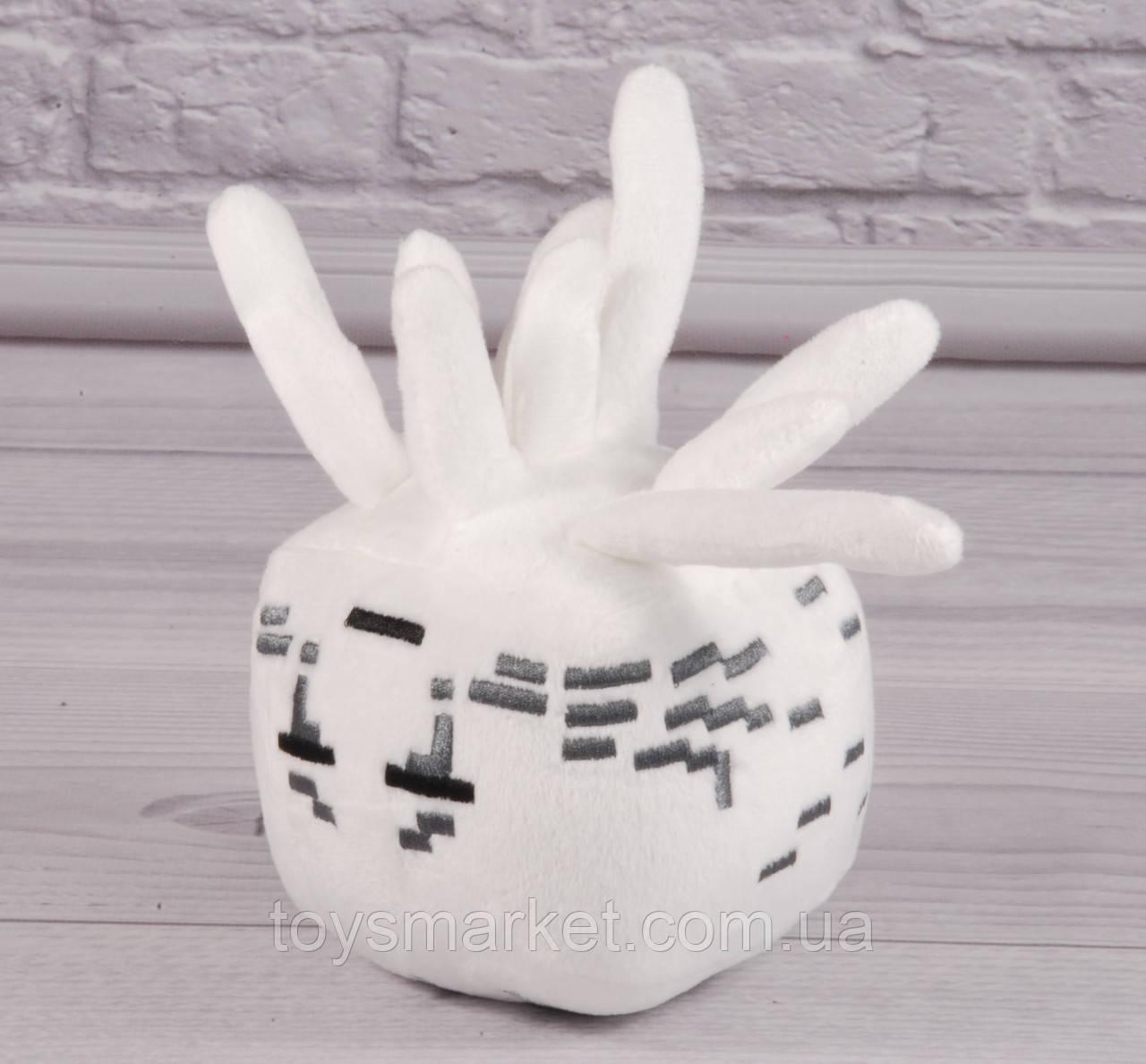 Мягкая игрушка медуза Гаст 20 см, Майнкрафт, Minecraft, плюшевая медуза