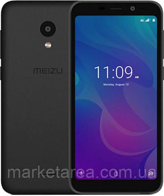 Смартфон мейзу безрамочный, синий с большим экраном на 2 sim Meizu C9 pro M819H Black Global Version3/32 гб