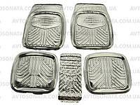 Коврики салона резиновые 1190 ВАЗ 2101-07 Aluminium