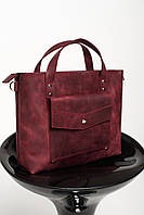 Стильная женская сумочка из натуральной кожи черный цвет