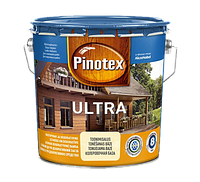 Pinotex ULTRA 10 л глянцевое защитное средство для дерева Калужница