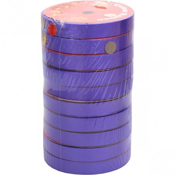 Лента 16мм*10м фиолетовая, 10 штук
