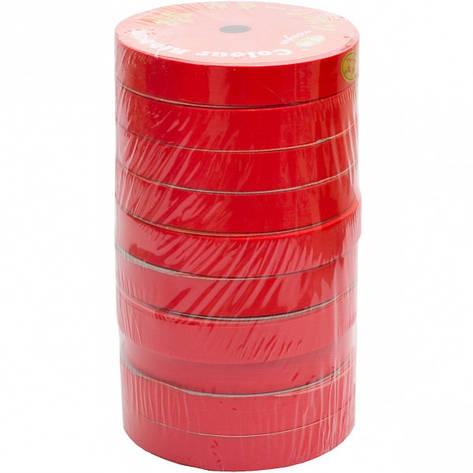 Лента 16мм*10м красная, 10 штук, фото 2