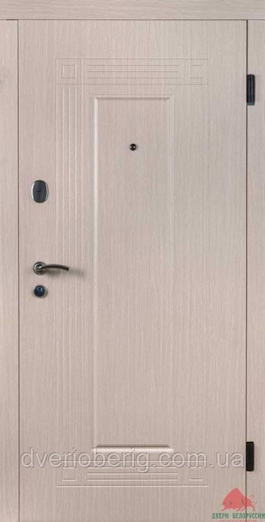 Входная дверь Двери Белоруссии (входные) Средний сегмент КЕДР ВЕНГЕ СВЕТЛЫЙ