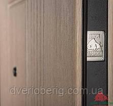 Входная дверь Двери Белоруссии (входные) Средний сегмент КЕДР ВЕНГЕ СВЕТЛЫЙ, фото 3