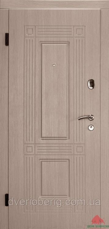 Входная дверь Двери Белоруссии (входные) Средний сегмент АТЛАНТ ВЕНГЕ СВЕТЛЫЙ