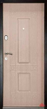 Входная дверь Двери Белоруссии (входные) Средний сегмент АТЛАНТ ВЕНГЕ СВЕТЛЫЙ, фото 2