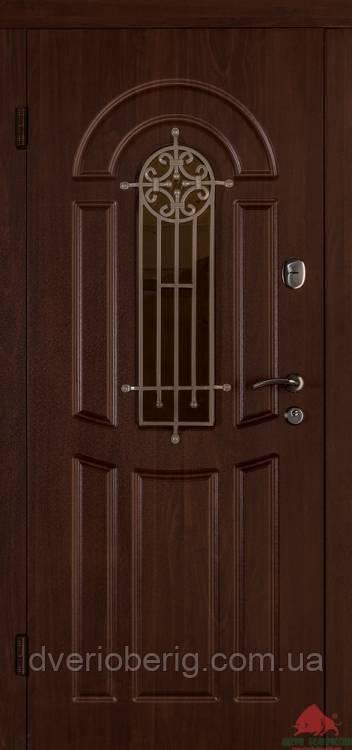 Входная дверь Двери Белоруссии (входные) Средний сегмент ФЛОРА ОРЕХ КОНЬЯК