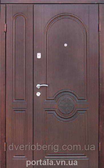 Входная дверь Портала Полуторные Омега 1200