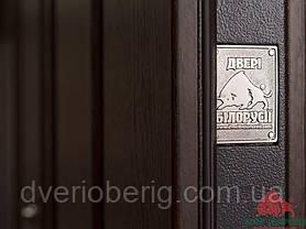 Входная дверь Двери Белоруссии (входные) Средний сегмент ТИТАН ТЕМНЫЙ ОРЕХ, фото 3