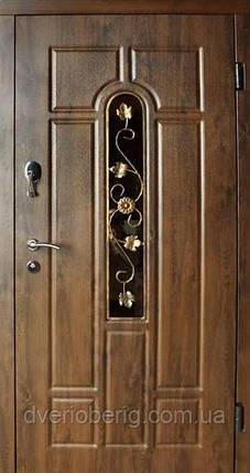 Входная дверь Redfort Стандарт Плюс Арка с ковкой Vinorit Стандарт Плюс, фото 2