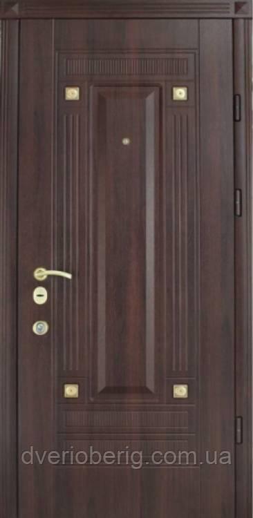 Входная дверь Страж Эклипс Престиж орех темный