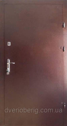 Входная дверь Redfort Оптима Плюс Металл - Металл с притвором улица, фото 2