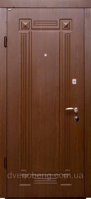 Входная дверь Berez Стандарт Алмарин вишня темная