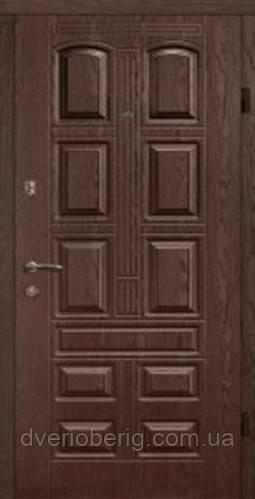 Входная дверь Arma Тип 13 Элит 305 темный орех квартира
