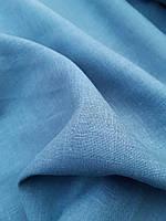 """Льняная сорочечная ткань """"Arizona Sky"""", фото 1"""