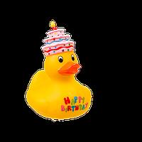 Свеча в форме уточки ООТВ Happy Birthday