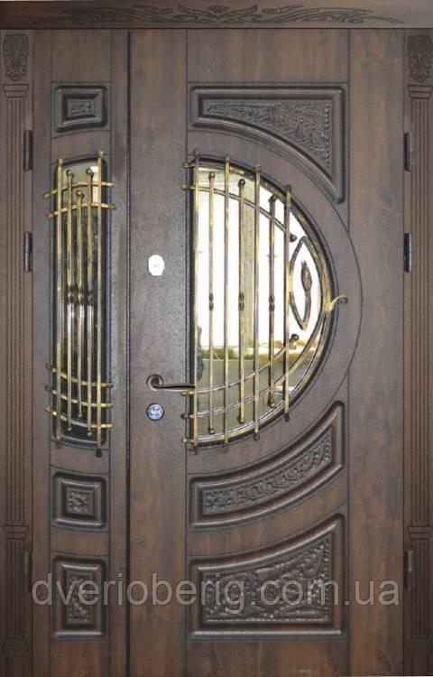 Полуторная дверь 12