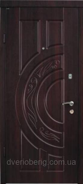 Входная дверь Berez Стандарт Рассвет орех коньячный Улица