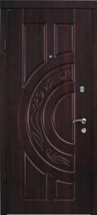 Входная дверь Berez Стандарт Рассвет орех коньячный Улица, фото 2