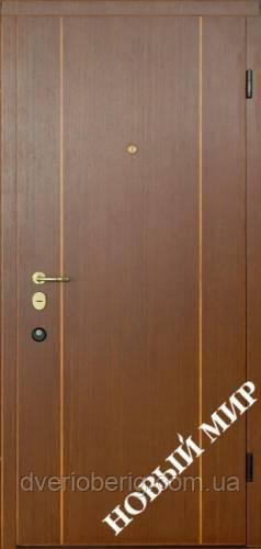 Входная дверь Новый Мир Новосёл Новосел М.5 Вертикаль В 2