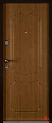 Входная дверь Двери Белоруссии (входные) Средний сегмент ЮНОНА ДУБ НАТУРАЛЬНЫЙ, фото 2