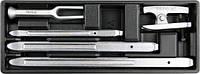Набор инструментов в ложементе для автосервиса YATO YT-55477 (Польша)