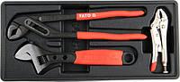 Набор инструмента в ложементе YATO YT-55473 (Польша)